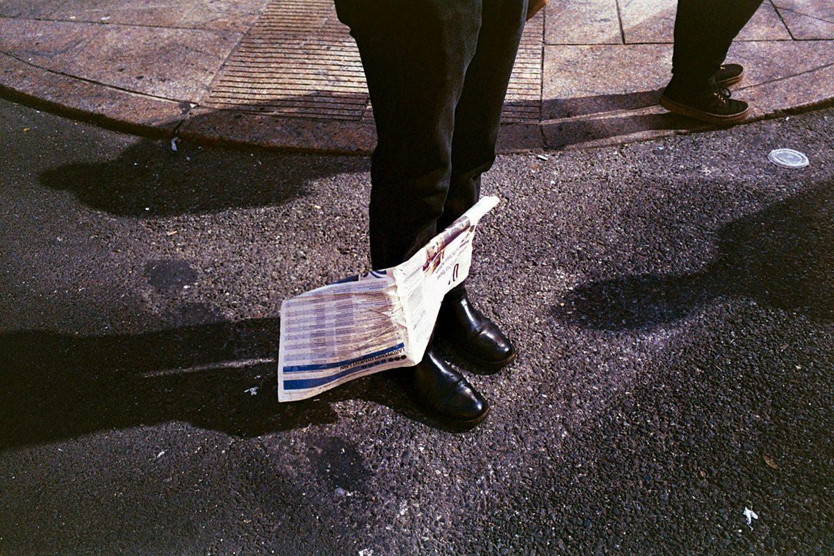 new york newspaper portfolio street_photography Denny Chirurgi