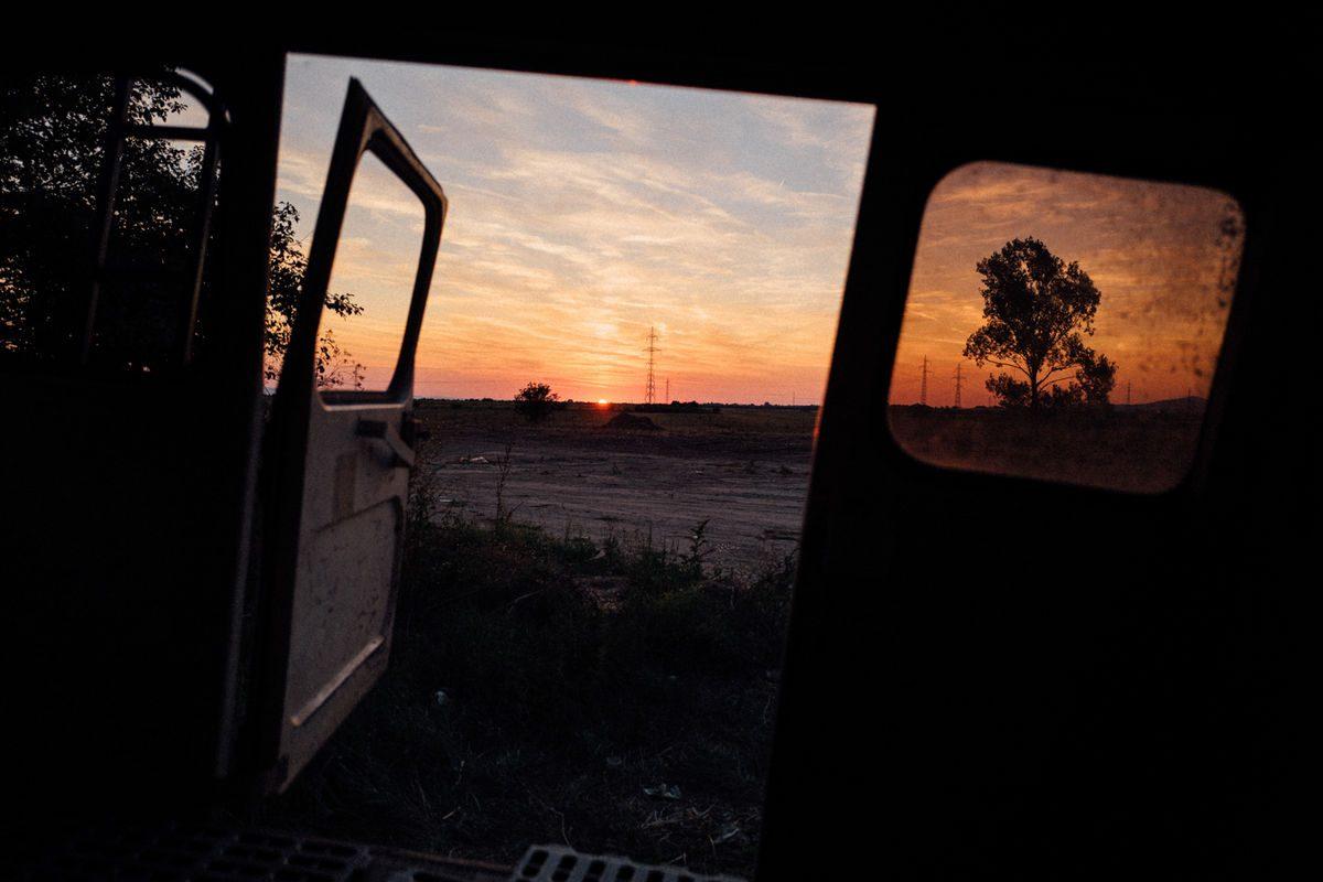 melancholy loves sunset