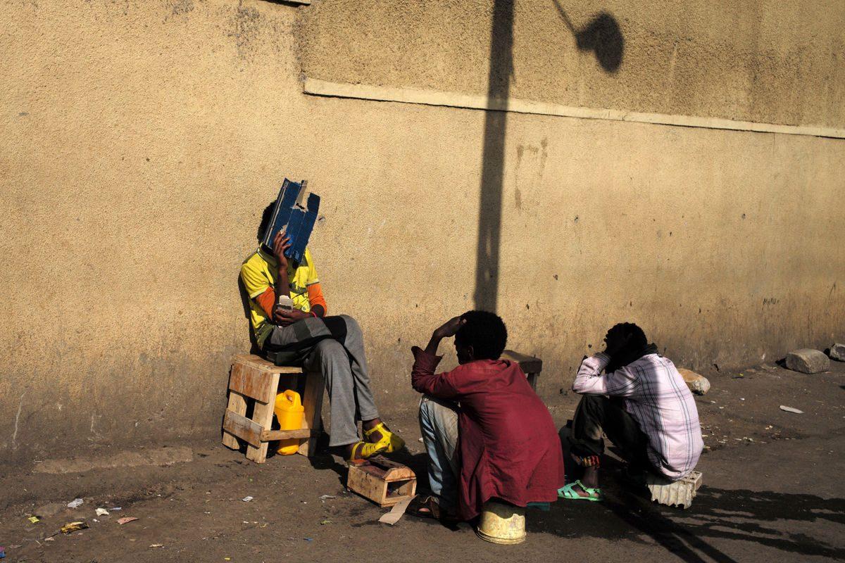 people in Ethiopia Marika Poquet street photography