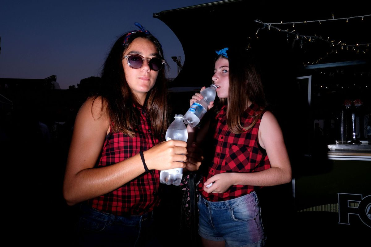young girls at Summer Jamboree Francesca Chiacchio